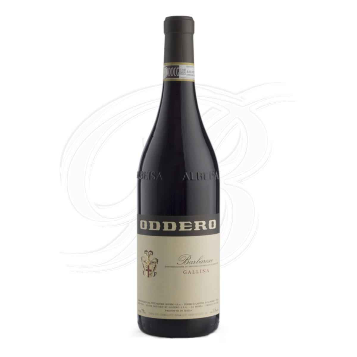 Barbaresco Gallina vom Weingut Oddero Poderi in La Morra im Piemont
