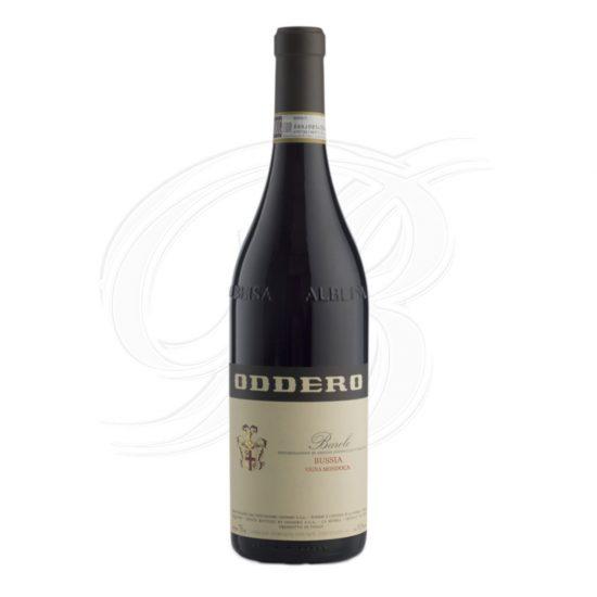Barolo Riserva Bussia Vigna Mondoca vom Weingut Oddero Poderi in La Morra im Piemont