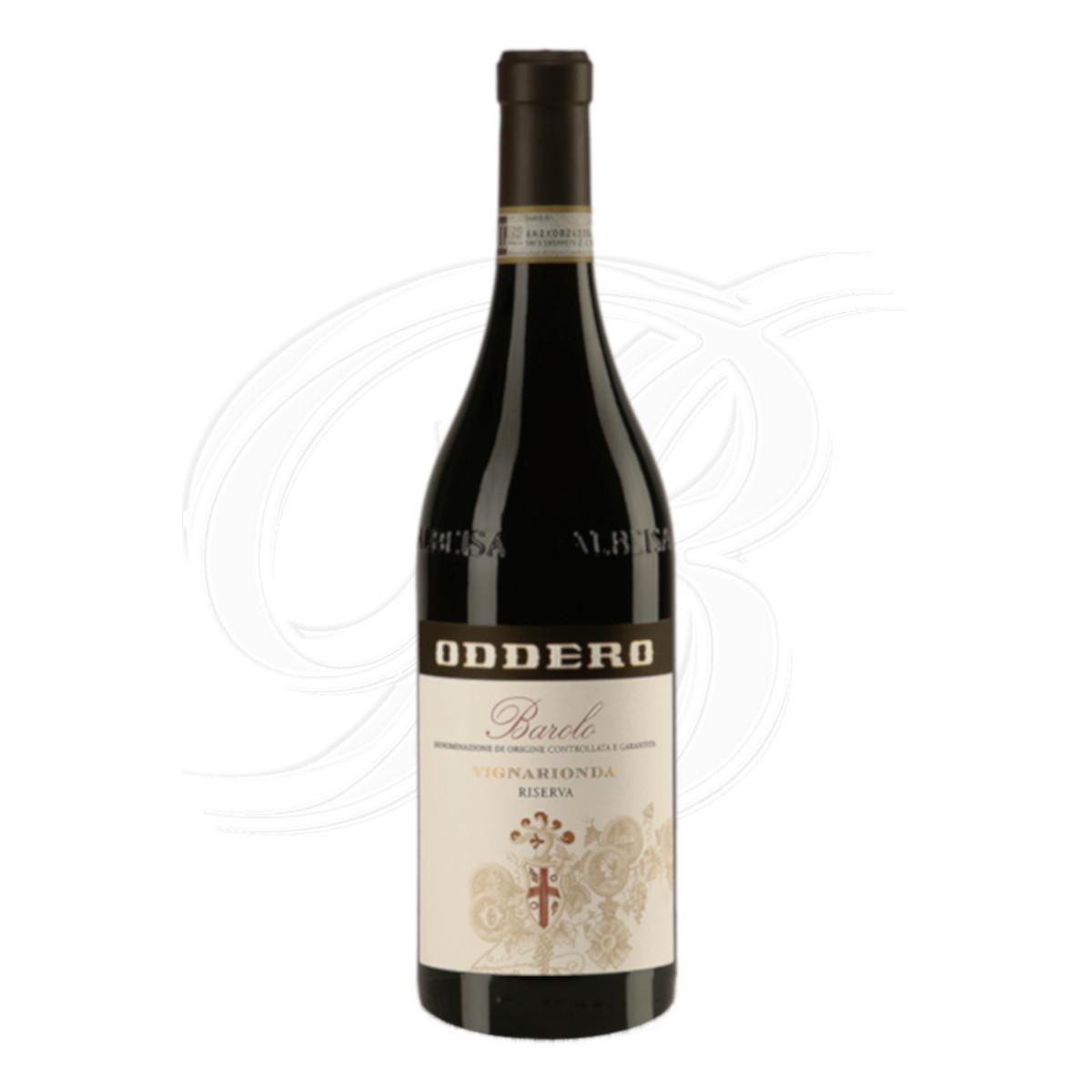 Barolo Riserva Vignarionda vom Weingut Oddero Poderi in La Morra im Piemont