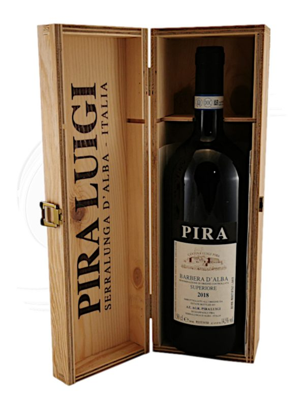 Barbera d'Alba vom Weingut Luigi Pira in Serralunga im Piemont
