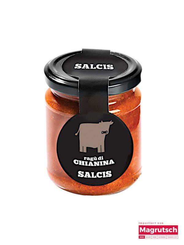 Ragu von Chianina-Rind von der Macelleria Salcis