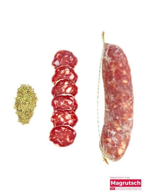 Salame senza spezie von der Salumerie Luiset aus dem Piemont