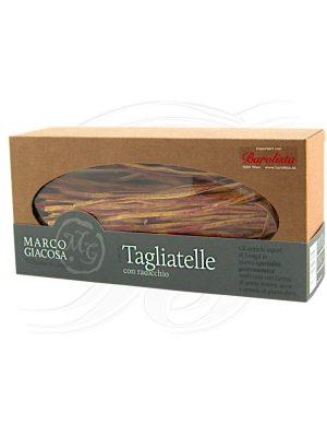 Tagliatelle con radicchio von Marco Giacosa aus Neive im Piemont