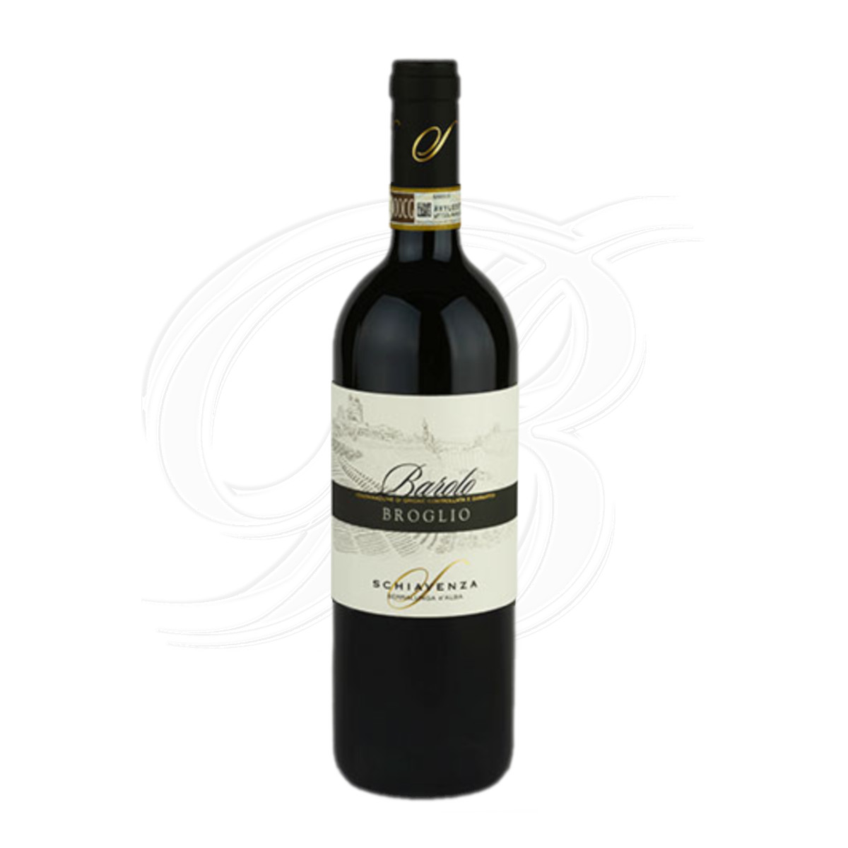 Barolo Broglio vom Weingut Schiavenza in Serralunga d'Alba im Piemont