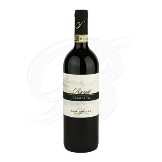 Barolo Cerretta vom Weingut Schiavenza in Serralunga d'Alba im Piemont