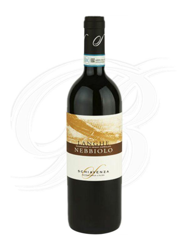 Langhe Nebbiolo vom Weingut Schiavenza in Serralunga d'Alba im Piemont