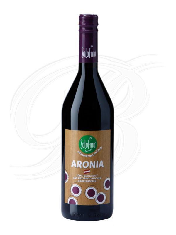 Solofino Aronia Direktsaft in Bioqualität