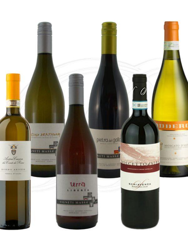 Frische Sommerweine aus dem Piemont in der SelezioneSei