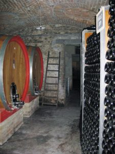 Die Kellerei des Weinguts Bartolo Mascarello